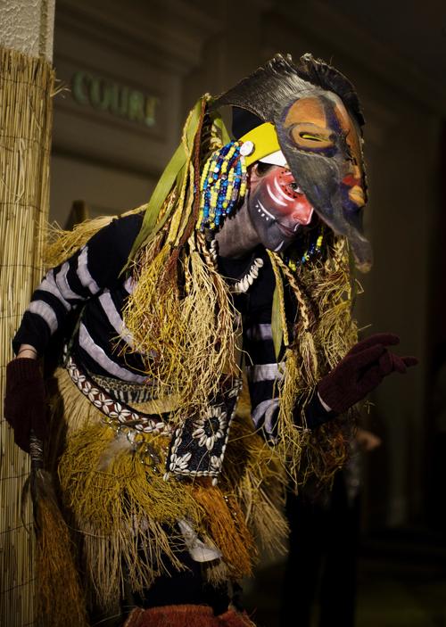 African Mocko Jumbie Side